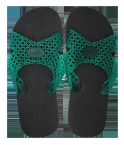 Cruzada Diamante Negro/Verde